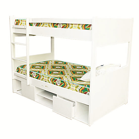 Storage Wooden Bunk Bed