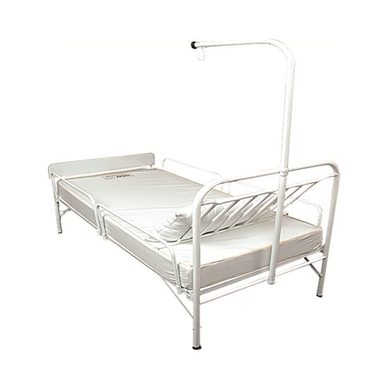 3 x 6 Unique Hospital Bedframe only with side guard