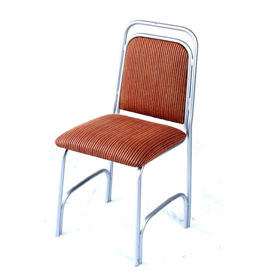 Chrome Coated Banquet Chair