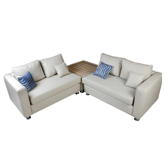 Bruno Sofa with Ottoman 5 Seaters